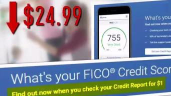 $1 Credit Score Check Comes With Conditions