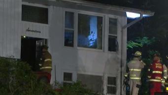 Crews Respond to Fire at Vernon Home
