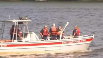 Crews Search for Man in Connecticut River in East Hartford