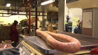Crowds Flock to New Britain Meat Shop for Easter Kielbasa