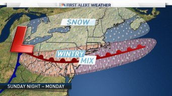 Winter Storm Possible Monday