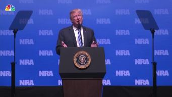 "Trump at NRA Thanks Kanye, Says Mueller Probe a ""Witch Hunt"""