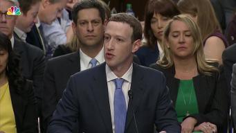 'I'm Responsible': Zuckerberg's Opening Statement to Congress