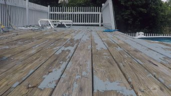 Couple Says Deck Paint Doesn't Work as Advertised