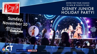 Disney Junior Holiday Party! VIP Ticket Sweepstakes