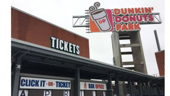 Dunkin' Donuts Stadium Won't Break Even For at Least 2 Years