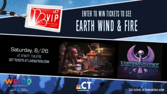 Earth, Wind & Fire VIP Ticket Sweepstakes