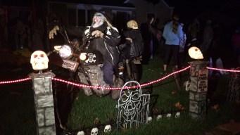Weather Dampens Enfield Halloween Fundraiser