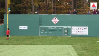 Make-A-Wish Builds 'Fantasy Fenway' in Windsor Family's Yard