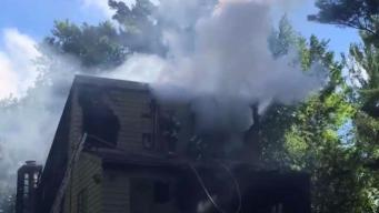 Fire Damages 3-Story Home in Torrington