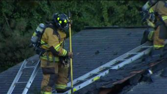 Fire Damages Vernon Home