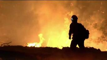 Firefighters Train for Emergencies Like California Wildfires