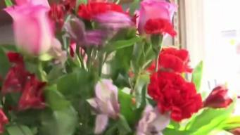Flower Shops Prepare for Big Day