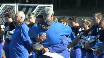 Local Football Coach Back on the Field After Father's Passing in B-17 Crash