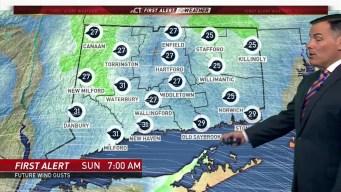 Forecast for Sat. Jan. 19