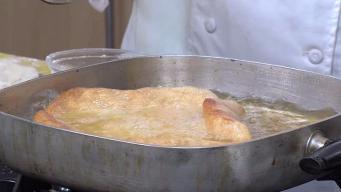 Country Fair Fried Dough with Cinnamon Sugar