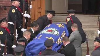 Firefighter Christopher Roy Laid to Rest in Worcester