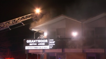 Six Taken to Hospital After Fire at Newington Motel