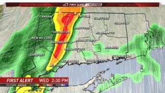 FIRST ALERT: Wind and Thunderstorms Move Through Today