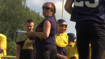 First Female High School Football Head Coach in Conn. Hopes to Lead Team to Victory