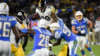 Steelers Top Chargers 24-17 on Sunday Night