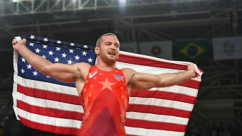 Kyle Snyder Becomes Youngest US Wrestling Gold Medalist