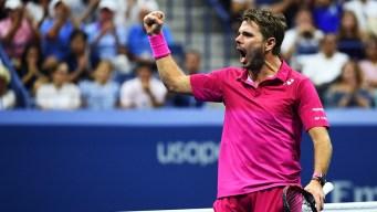 Wawrinka Tops Djokovic for 1st US Open Title