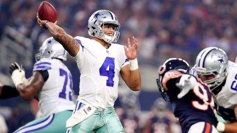 Sunday Night Football: Dallas Cowboys vs Chicago Bears