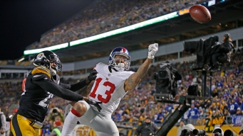 Giants Lose to Steelers, 24-14