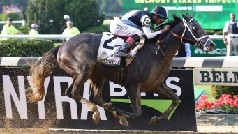 Tapwrit Wins Belmont Stakes, Ending 2017 Triple Crown