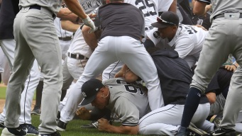 Basebrawl! 3 Big Beefs, 8 Tossed as Tigers Top Yankees 10-6