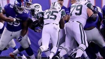 Giants Beat Jets, 32-31, in Annual Game