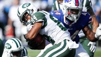 Jets Fall to Bills, 21-12