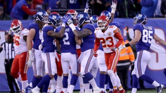 Giants Beat Chiefs, 12-9