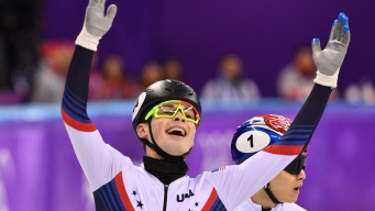 Krueger Wins 1st US Speedskating Medal at Pyeongchang