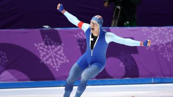 Brother of Norwegian Speedskater Can't Contain Excitement After Win