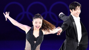 Olympic Figure Skating Stars Shine in Exhibition Gala