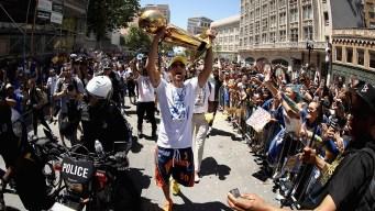 Oakland Again Celebrates NBA Champion Warriors