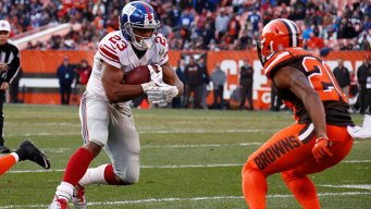 Manning, Giants Down Browns 27-13 for Sixth Straight Win