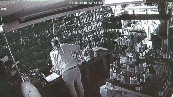 Glastonbury Liquor Store Burglary Caught on Camera