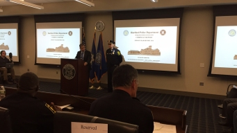 Hartford Officials Release 2016 Year-End Crime Stats