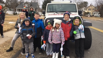 Snow Monster Teams Up With Plainville Kids for Fundraiser