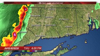 Strong Storms Move Into State