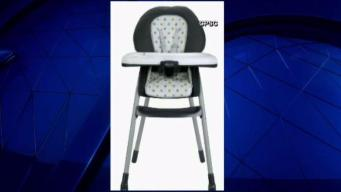 High Chairs Sold at Walmart Recalled Over Fall Hazard