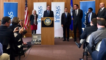 Infosys to Open Hartford Location, Create 1,000 Jobs by 2022