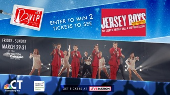 Jersey Boys VIP Ticket Sweepstakes