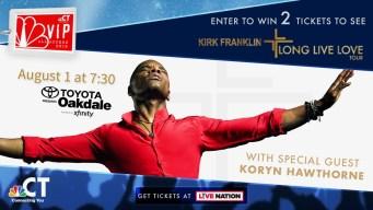 Kirk Franklin VIP Ticket Sweepstakes