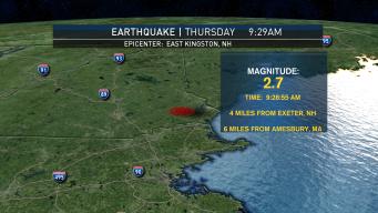 'BOOM': Earthquake Shakes Southern NH, Northern Mass.