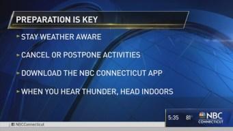 Lightning Safety Tips in Light of West Haven Strike