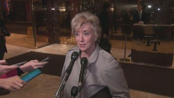 Linda McMahon Meets With President Elect Donald Trump